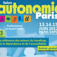 affiche autonomic paris 2012