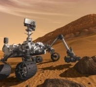 Robot Curiosity commandé grace à des lunettes 3D