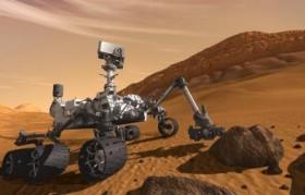 Robot Curiosity commandé grace à des lunettes 3D vision