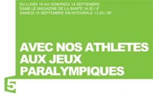 In vivo sur France 5 jeux paralympiques