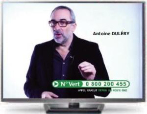 Antoine Duléry nouveau parrain des bibliothéques sonores