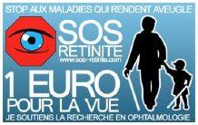 1 euro pour la vue par sos rétinite