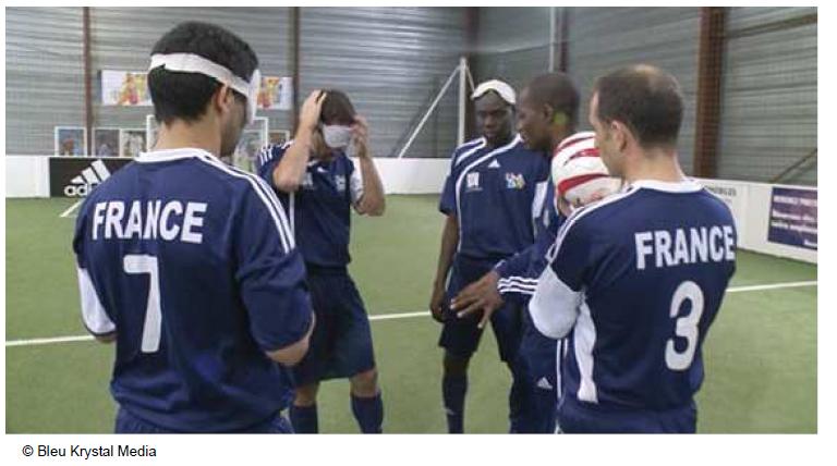 l'équipe de France de cécifoot