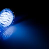 led lumière bleue