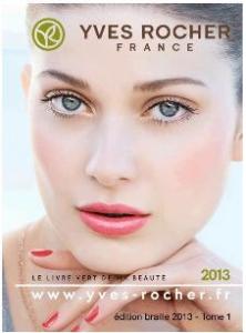 Livre audio et en braille d'Yves rocher :  Livre Vert de la Beauté