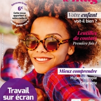 couverture magazine numéro 7 du guide de la vue