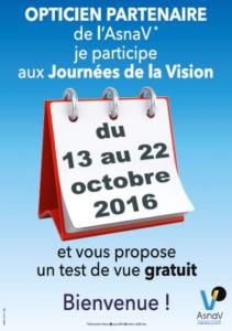 ASNAV journées de la vision 2016