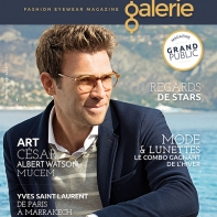 couverture magazine lunettes galerie n°8